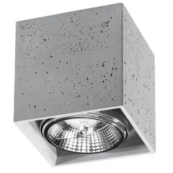 Ceiling Lamp Valde | Concrete