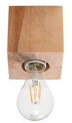 Ceiling Lamp Abel | Wood