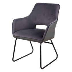 Armchair Delia | Dark Grey