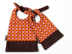Stylish Bib | Basil Orange