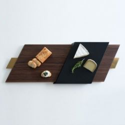 SLIDE Serving Tray | Walnut