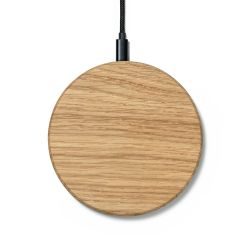 Slim Wireless Charger | Oak