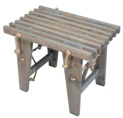 Outdoor EcoBench 60 Pine Wood | Grey