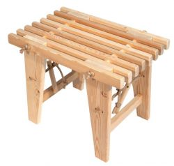 Outdoor EcoBench 60 Larch | Light Wood