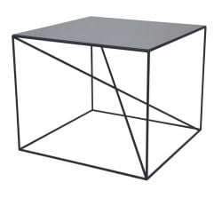 Small X Table de Salon | Noir