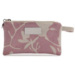 Small Make Up Bag Magnolia Shimmer Pink