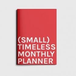 Monthly Planner | Timeless