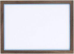 RAM'N Frame | Smoked Oak Light Blue Acryl