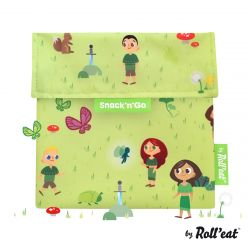 Wiederverwendbare Snack'n'Go Snack'n'Go Kids Forest | Grün