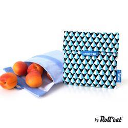 Wiederverwendbare Snack-Beutel Snack'n'Go-Kacheln | Blau