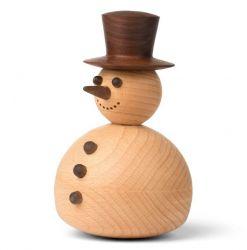 Wooden Figure Tumbler | Snowman