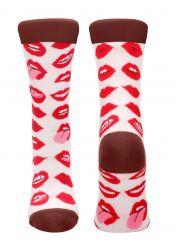 Socken Lip Love