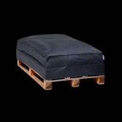 Pouf Sofa Palette 120 x 80 cm | Anthracite