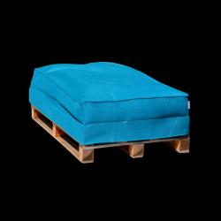 Sitzsack-Palettensofa 120 x 80 cm | Blau