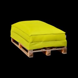 Pouf Sofa Palette 120 x 80 cm | Vert