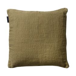 Raw cushion cover | Soft Grey Green