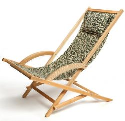 Rocking deck chair- William Morris