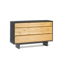 Solid 04 Dresser | Black