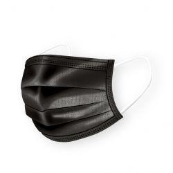 Einwegmaske 5-er Set | Schwarz