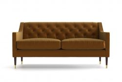 2 Seater Sofa Dollie | Gold