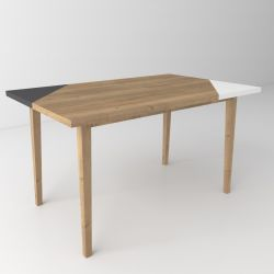 Coffee Table Oak 03 | 3