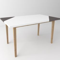 Coffee Table Oak 03 | 5