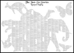"Text Poster ""Just-so Stories"""