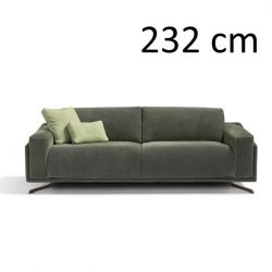 Sleeping Sofa Space L 232 cm | Green