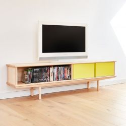 Splitter Dressoir 2 x 1/2 | Jaune