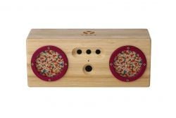 TAMBOR Natural Bamboo Bluetooth Speaker | Spring
