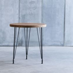 Sputnik II Table d'Appoint | Rond