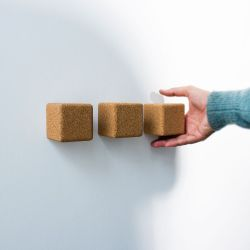 Wall Hook Pega Set of 3 | Light Cork