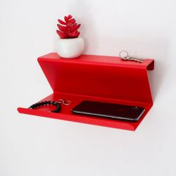 Wall Shelf Vinco | Red