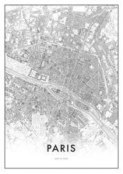Gerahmte Leinwand | Paris
