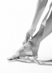 Gerahmte Leinwand | Tänzer-Fuß