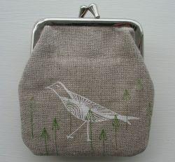 Kleine portemonnee Vogels