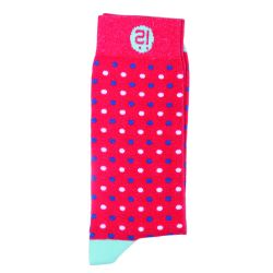 Herrensocken | Micro Dots