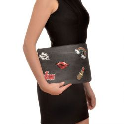 Pouch Kiss | Black