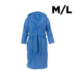 Shawl Collar Bathrobe M/L | Aqua