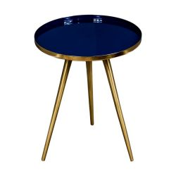 Table d'Appoint Marbre | Bleu