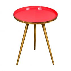 Table d'Appoint Marbre | Corail