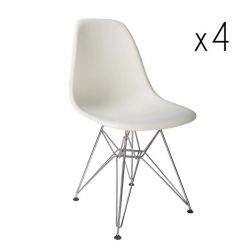 Sono Chair Set of 4 | White