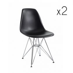 Chair Sono Set of 2 | Black