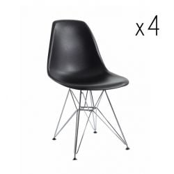 Sono Chair Set of 4 | Black