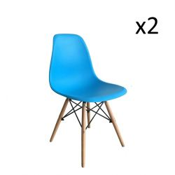 Chair Manda Set of 2 | Blue