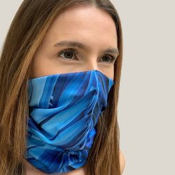 Tube Scarf ST24 | Blue