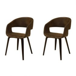Luna Chair Set of 2 | Kansas Brown