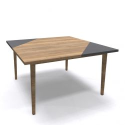 Coffee Table Oak 04 | 4