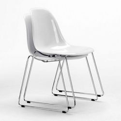 New Stack Chair - white