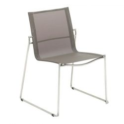 Asta Stacking Chair | Taupe